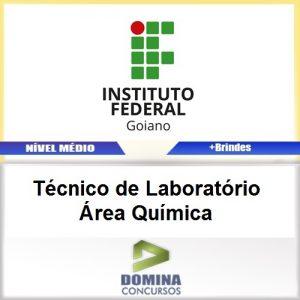 Apostila IF Goiano 2017 Técnico Laboratório Química