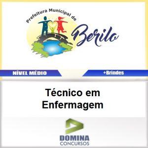 Apostila Berilo MG 2017 Técnico em Enfermagem