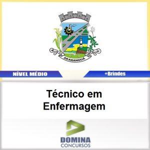 Apostila Araranguá SC 2017 Técnico em Enfermagem