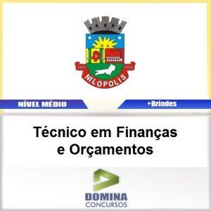 Apostila Nilópolis RJ 2017 TEC Finanças e Orçamentos