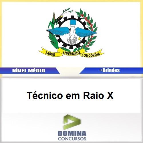 Apostila Ivaiporã PR 2017 Técnico em Raio X