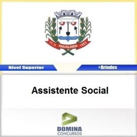 Apostila Anaurilândia MS 2017 Assistente Social