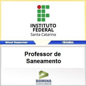 Apostila IFSC 2017 Professor de Saneamento PDF