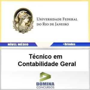 Apostila UFRJ 2017 Técnico em Contabilidade Geral