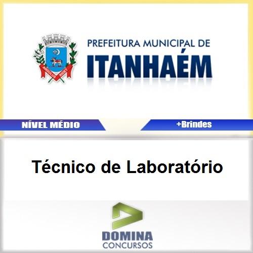 Apostila Itanhaém SP 2017 Técnico de Laboratório
