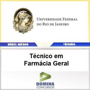 Apostila UFRJ 2017 Técnico em Farmácia Geral PDF
