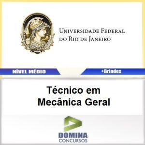 Apostila UFRJ 2017 Técnico em Mecânica Geral