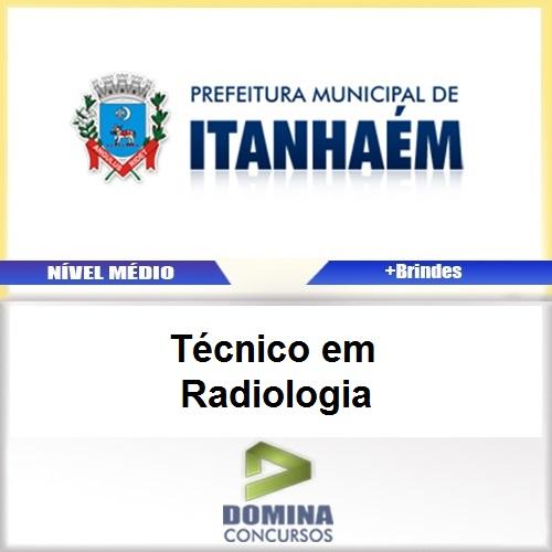 Apostila Itanhaém SP 2017 Técnico em Radiologia