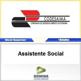 Apostila CODESAIMA RR 2017 Assistente Social