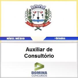 Apostila Anaurilândia MS 2017 Auxiliar de Consultório