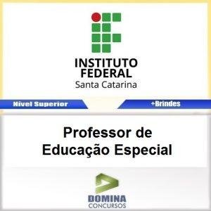 Apostila IFSC 2017 Professor de Educação Especial