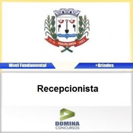 Apostila Anaurilândia MS 2017 Recepcionista