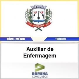 Apostila Anaurilândia MS 2017 Auxiliar de Enfermagem