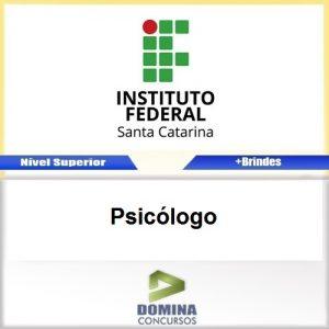 Apostila Concurso IFSC 2017 Psicólogo Download