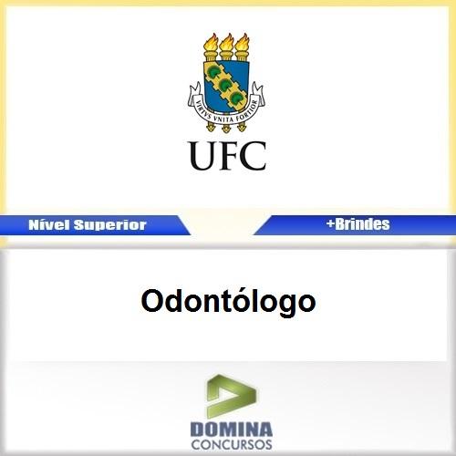 Apostila Concurso UFC 2017 Odontólogo Download