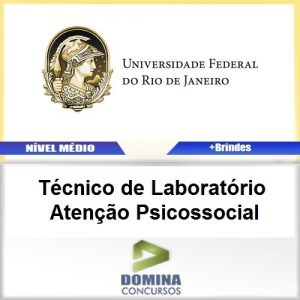 Apostila UFRJ 2017 Técnico de Laboratório Psicossocial