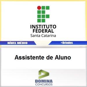 Apostila Concurso IFSC 2017 Assistente de Aluno