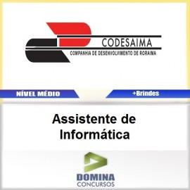 Apostila CODESAIMA RR 2017 Assistente de Informática