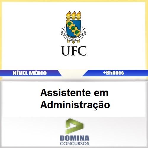 Apostila UFC 2017 Assistente em Administração