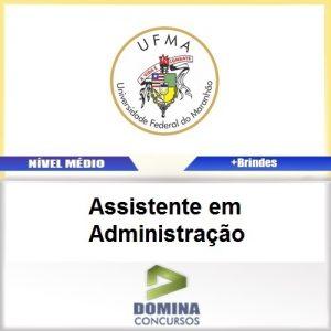 Apostila UFMA 2017 Assistente em Administração