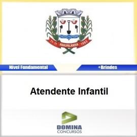 Apostila Anaurilândia MS 2017 Atendente Infantil