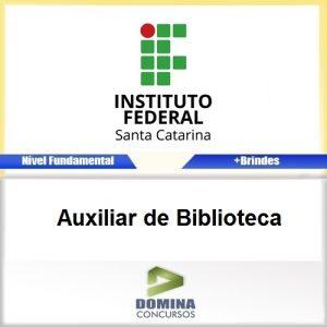 Apostila Concurso IFSC 2017 Auxiliar de Biblioteca PDF