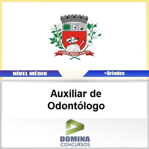 Apostila Pres Prudente 2017 Auxiliar de Odontólogo