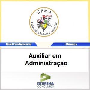 Apostila UFMA 2017 Auxiliar em Administração PDF
