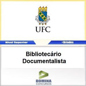Apostila UFC 2017 Bibliotecário Documentalista PDF