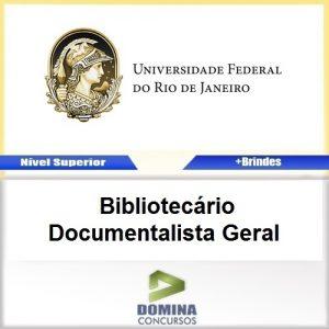 Apostila UFRJ 2017 Bibliotecário Documentalista Geral