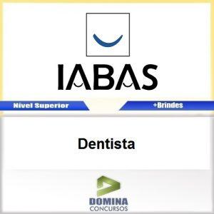 Apostila Concurso IABAS RJ 2017 Dentista PDF
