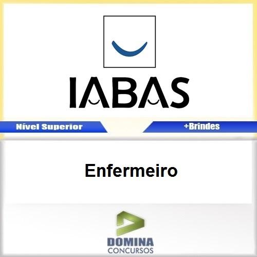 Apostila Concurso IABAS RJ 2017 Enfermeiro