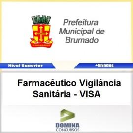 Apostila Brumado BA 2017 Farmacêutico Vigilância VISA