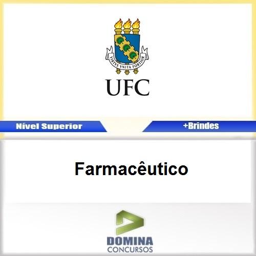 Apostila Concurso UFC 2017 Farmacêutico PDF