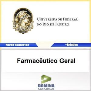 Apostila Concurso UFRJ 2017 Farmacêutico Geral