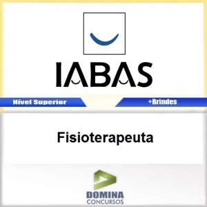 Apostila Concurso IABAS RJ 2017 Fisioterapeuta