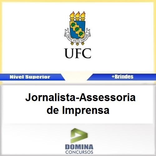 Apostila UFC 2017 Jornalista Assessoria de Imprensa