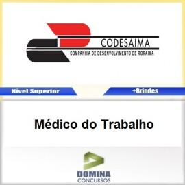 Apostila CODESAIMA RR 2017 Médico do Trabalho