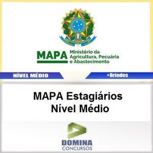 Apostila MAPA 2017 Estagiários Nível Médio PDF