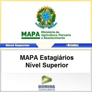 Apostila MAPA 2017 MAPA Estagiários Nível Superior