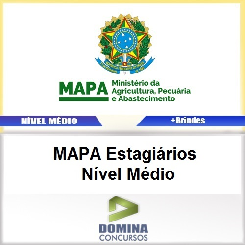 Apostila MAPA 2017 Estagiários Nível Médio Download
