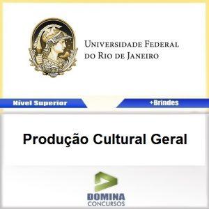 Apostila Concurso UFRJ 2017 Produção Cultural Geral