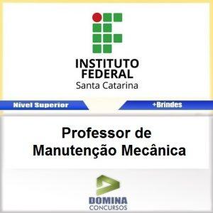 Apostila IFSC 2017 Professor de Manutenção Mecânica
