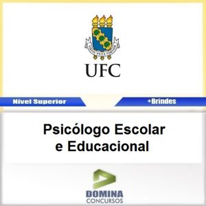 Apostila UFC 2017 Psicólogo Escolar e Educacional