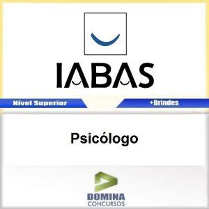 Apostila Concurso IABAS RJ 2017 Psicólogo