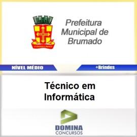 Apostila Brumado BA 2017 Técnico em Informática
