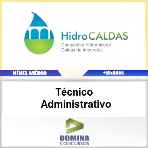 Apostila HidroCALDAS SC Técnico Administrativo PDF