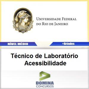 Apostila UFRJ 2017 Técnico Laboratório Acessibilidade