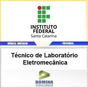 Apostila IFSC 2017 Técnico Laboratório Eletromecânica