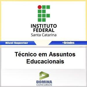 Apostila IFSC 2017 Técnico em Assuntos Educacionais